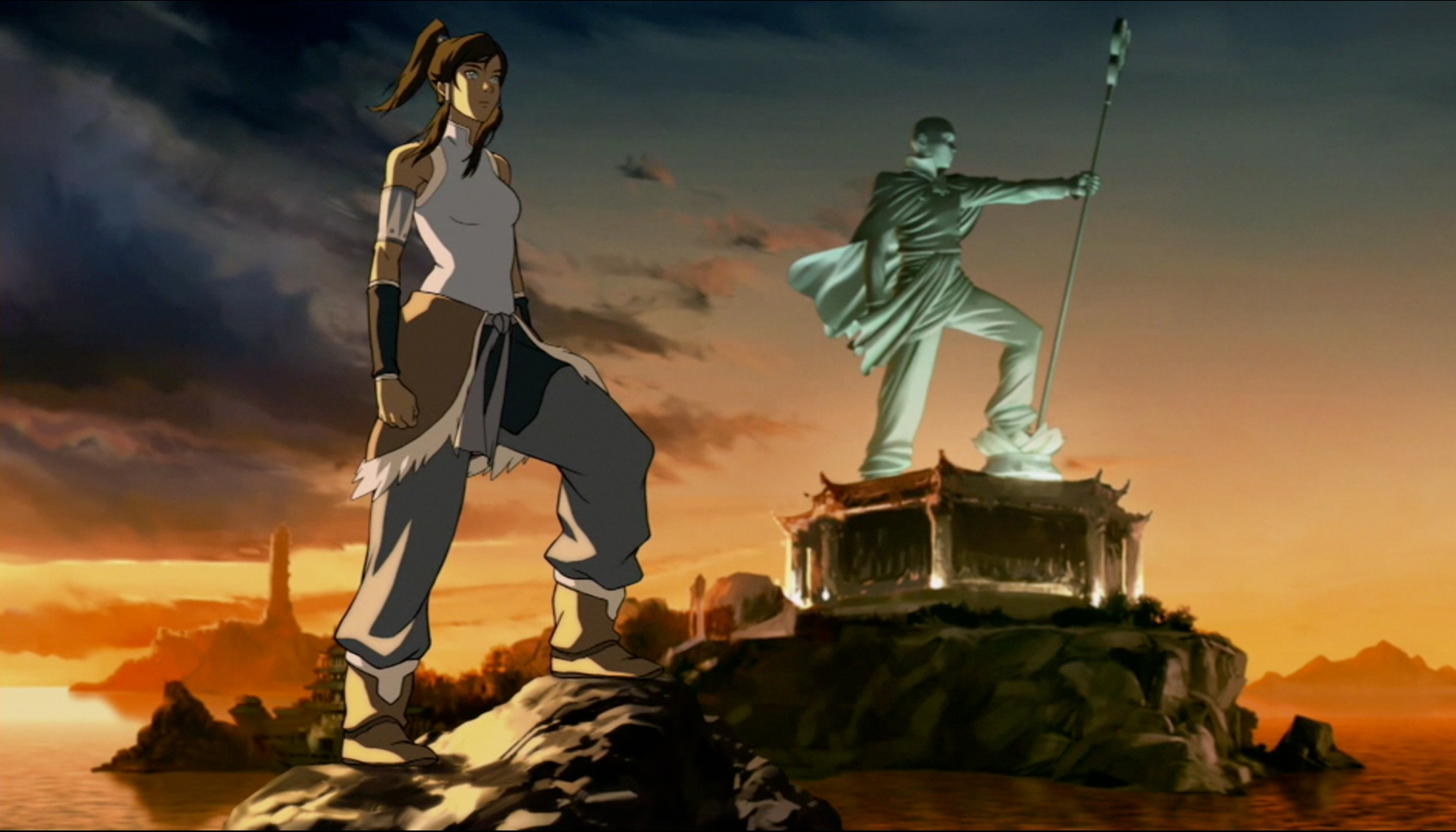 Korra And Aang Fanfiction Legend of korra blew my mind